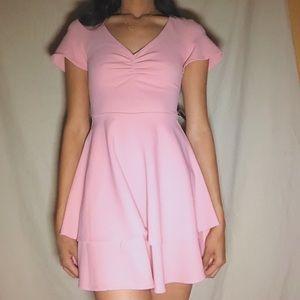 Mini dress, pink dress